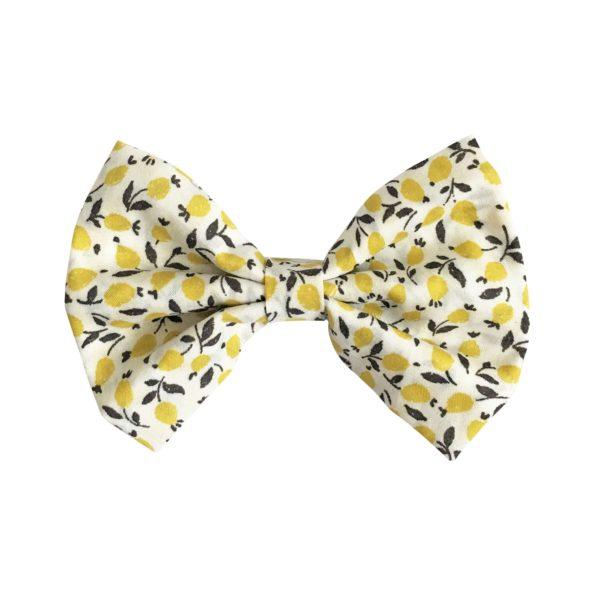 Large bowtie bow – alligator clip – Liberty Ed D