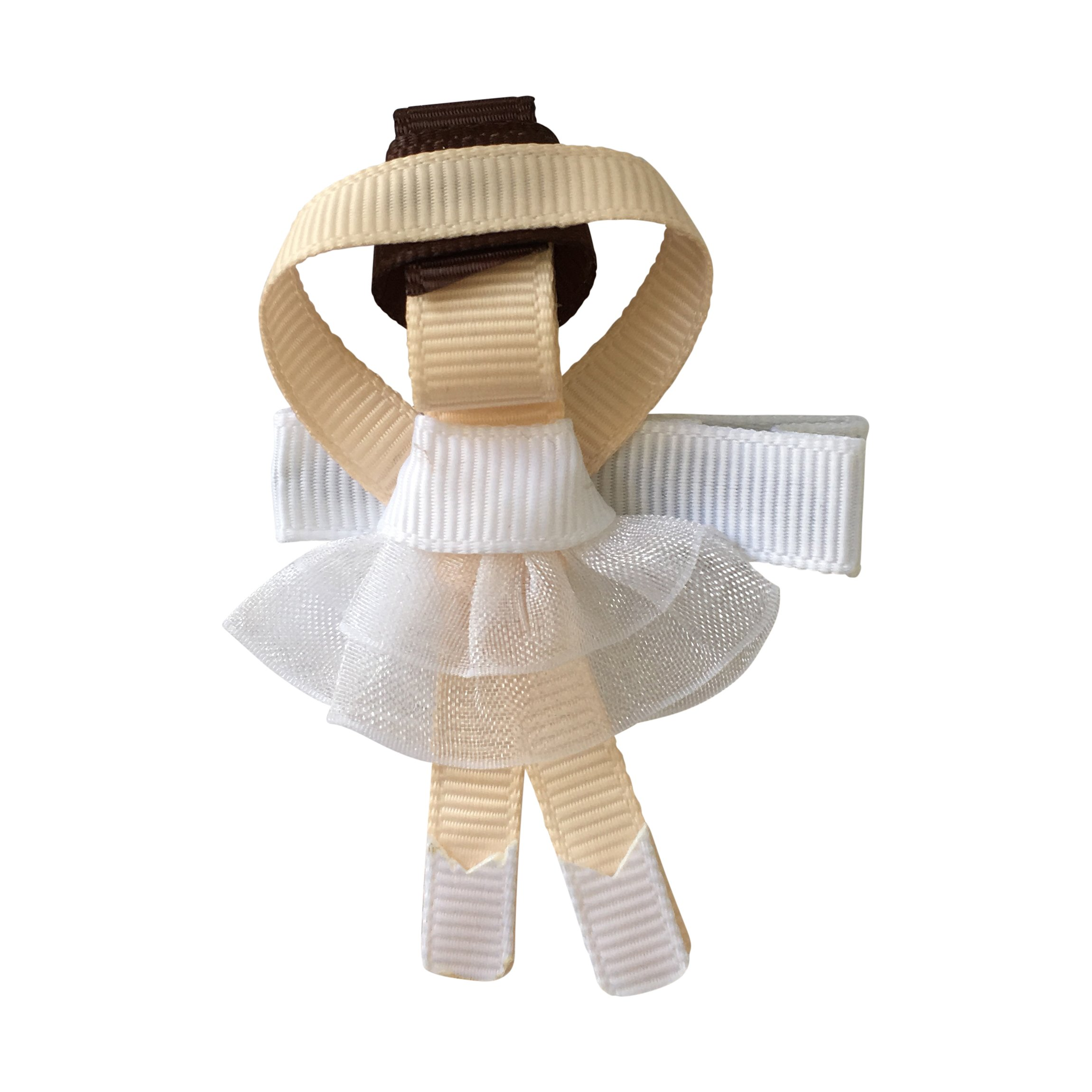 Image of Milledeux Ballerina - alligator clip - White