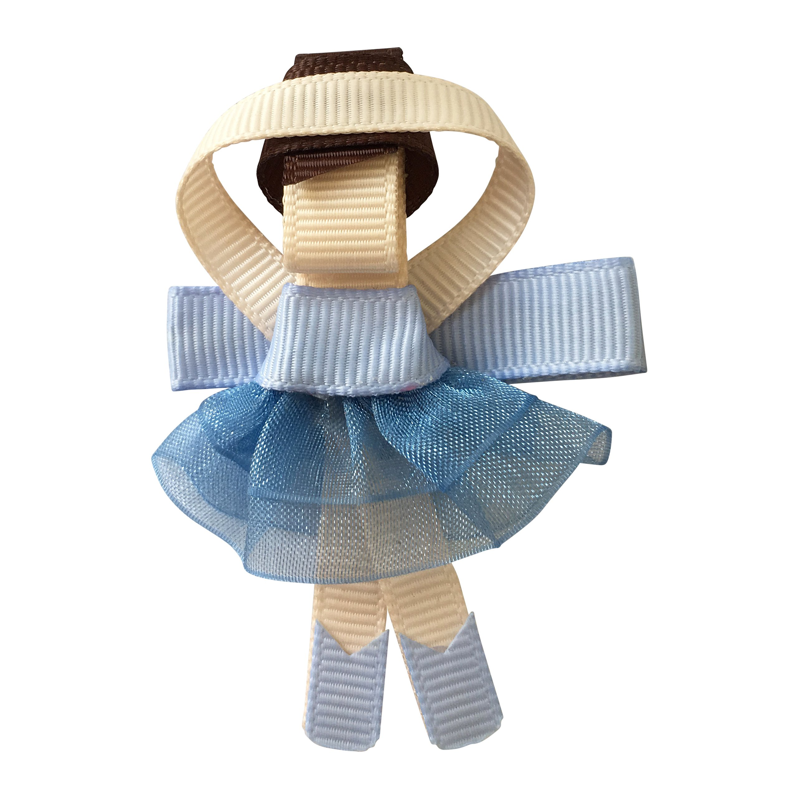 Image of Milledeux Ballerina - alligator clip - Bluebell
