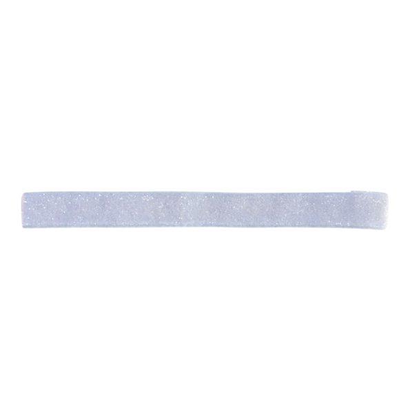 Milledeux – Elastic hairband – bluebell colored glitter
