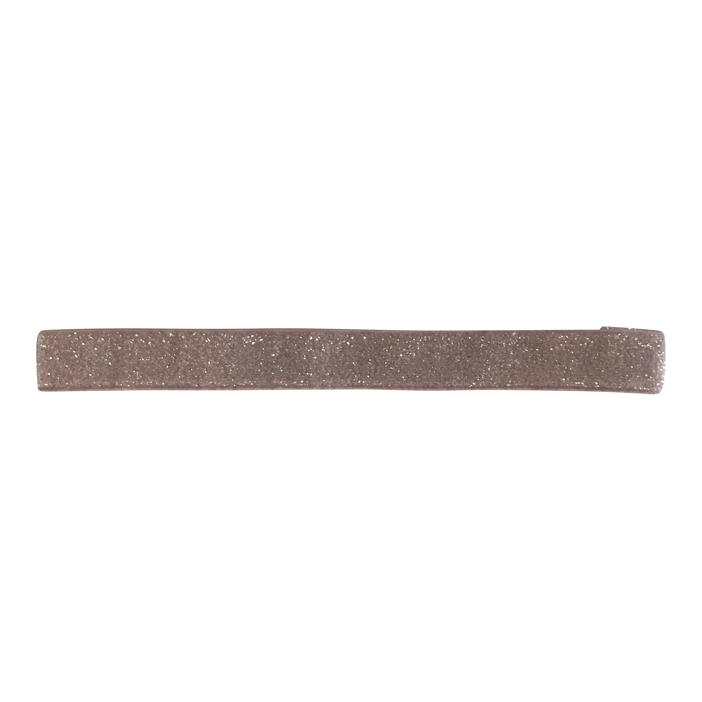 Image of Milledeux - Elastic hairband - chocolate chip colored glitter