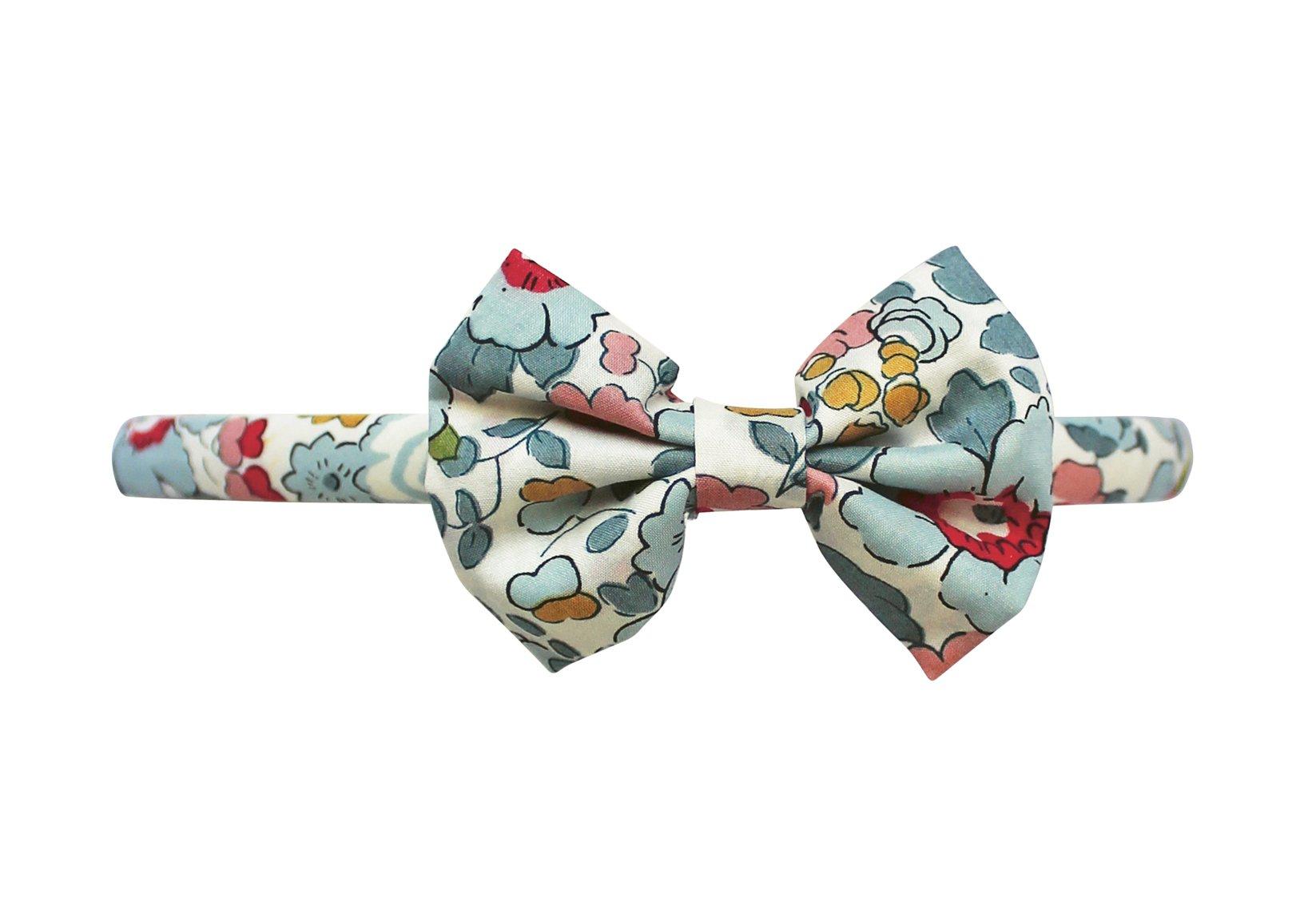 Thin Hairband – Small Bowtie Bow
