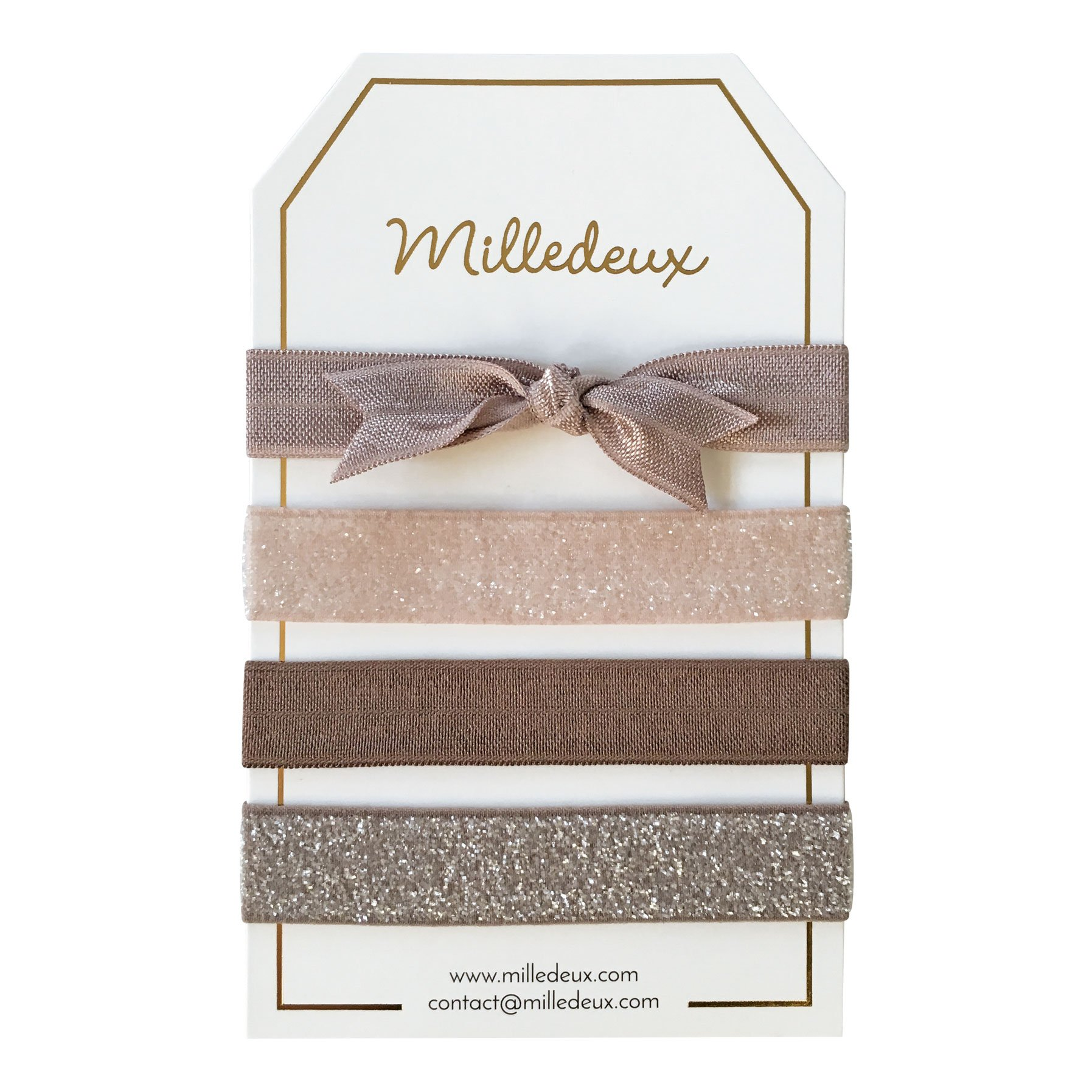 Image of   4 Milledeux Hairties - Color combi 11