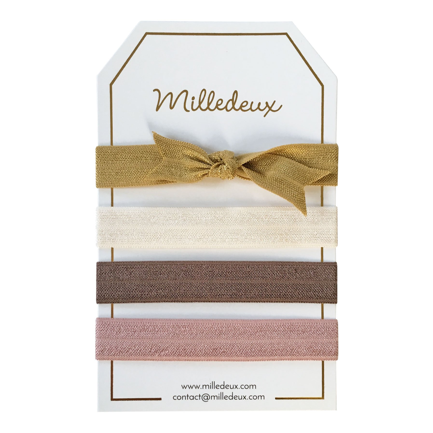 Image of   4 Milledeux Hairties - Color combi 12