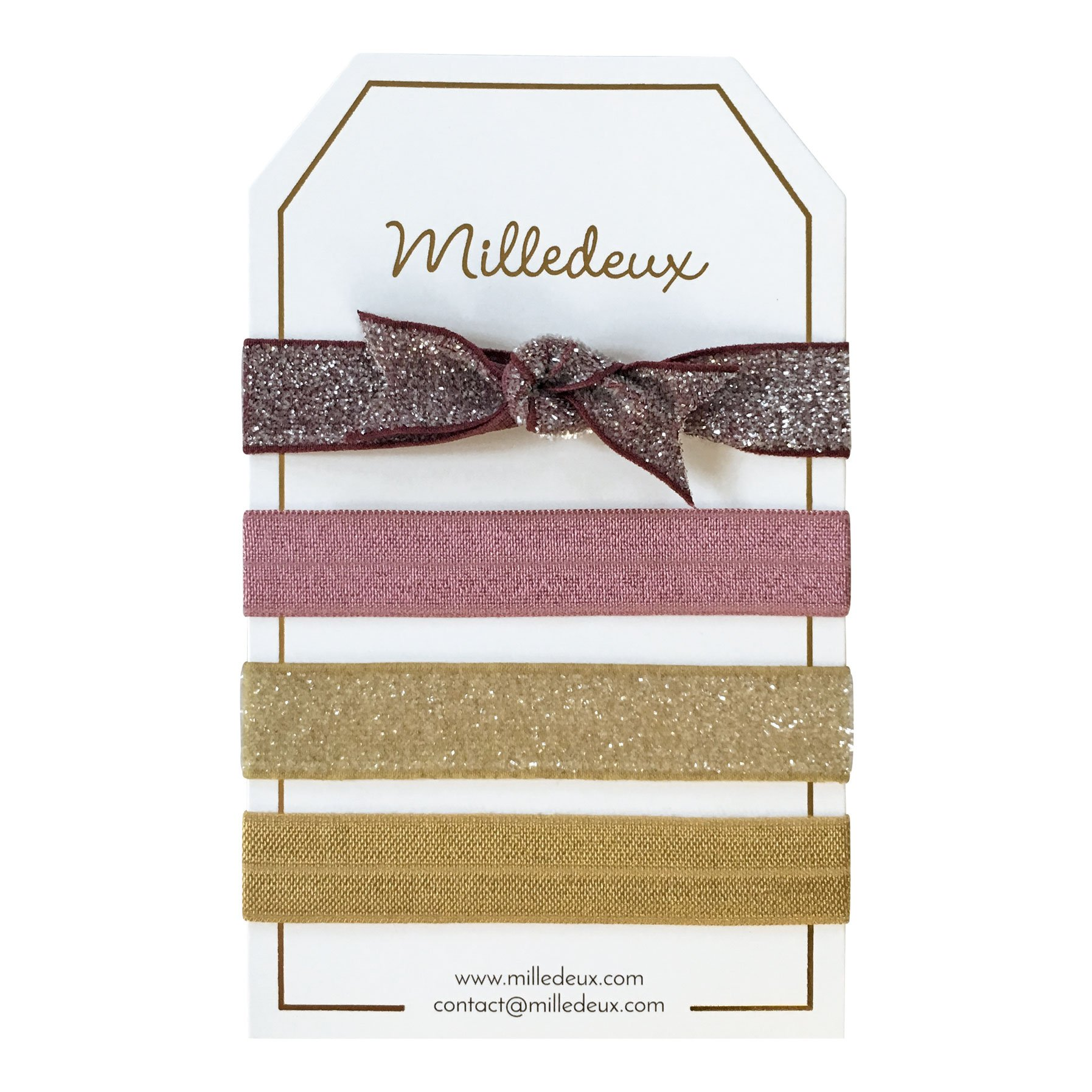 Image of   4 Milledeux Hairties - Color combi 7