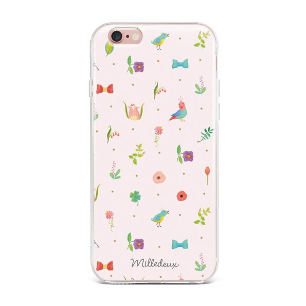 Milledeux Phone Cover – Classic Pattern – Large Colored
