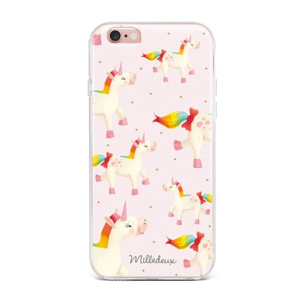 Milledeux Phone Cover – Unicorn Pattern – Colored