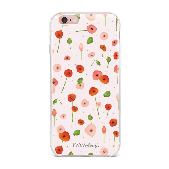 Milledeux Phone Cover – Satin Pattern – Small Colored