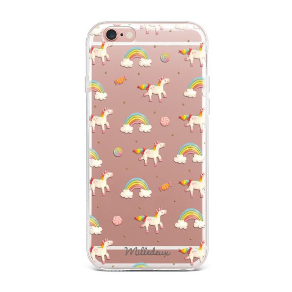 Milledeux Phone Cover – Fantasy Pattern – Large Clear