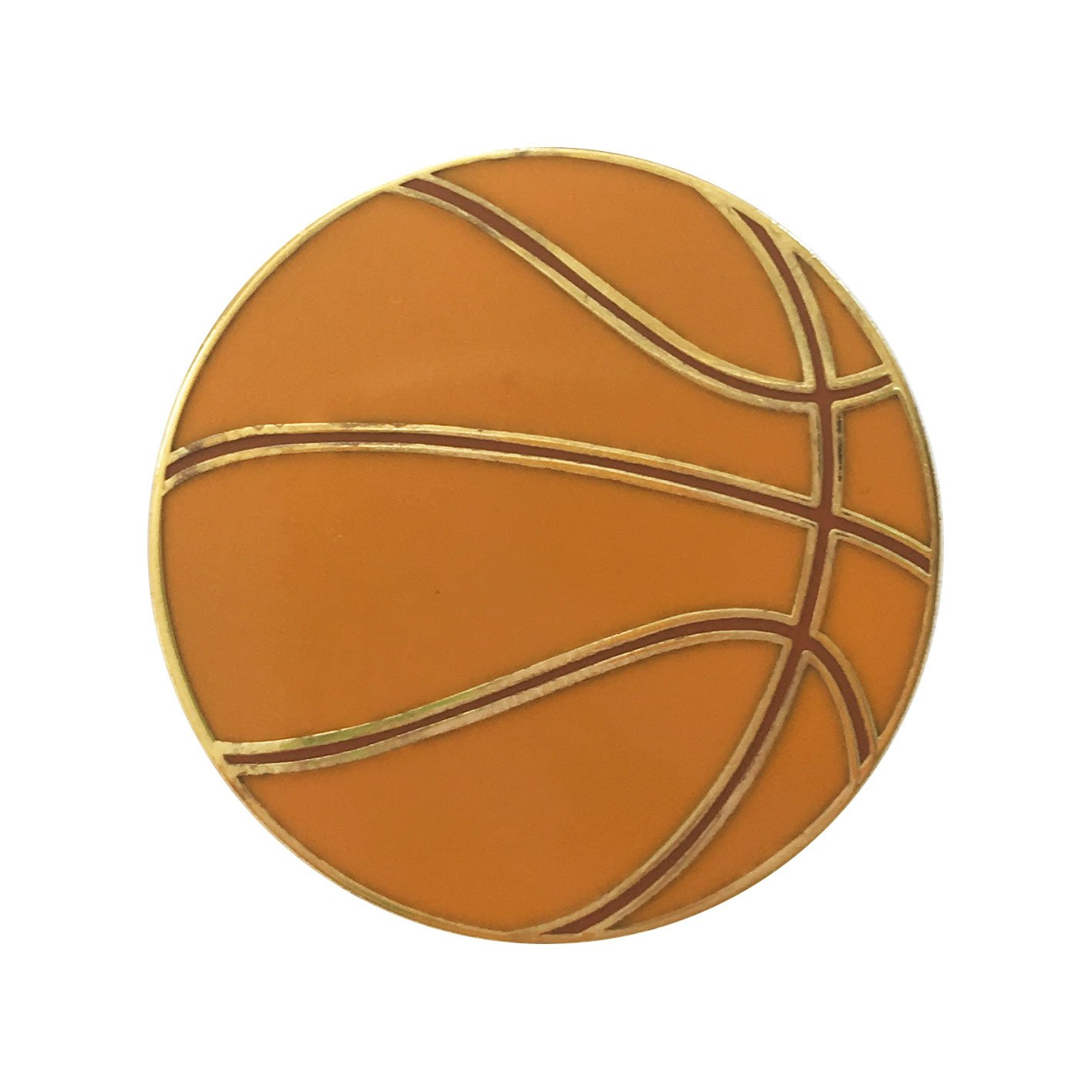 Image of   Basketball pin badge