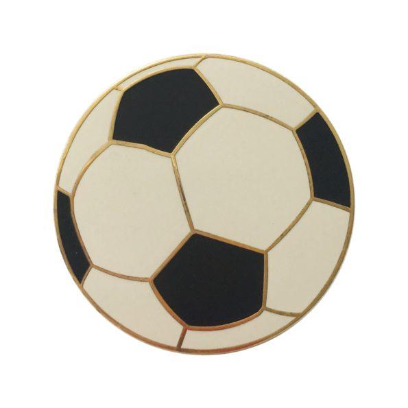 European Soccer pin badge