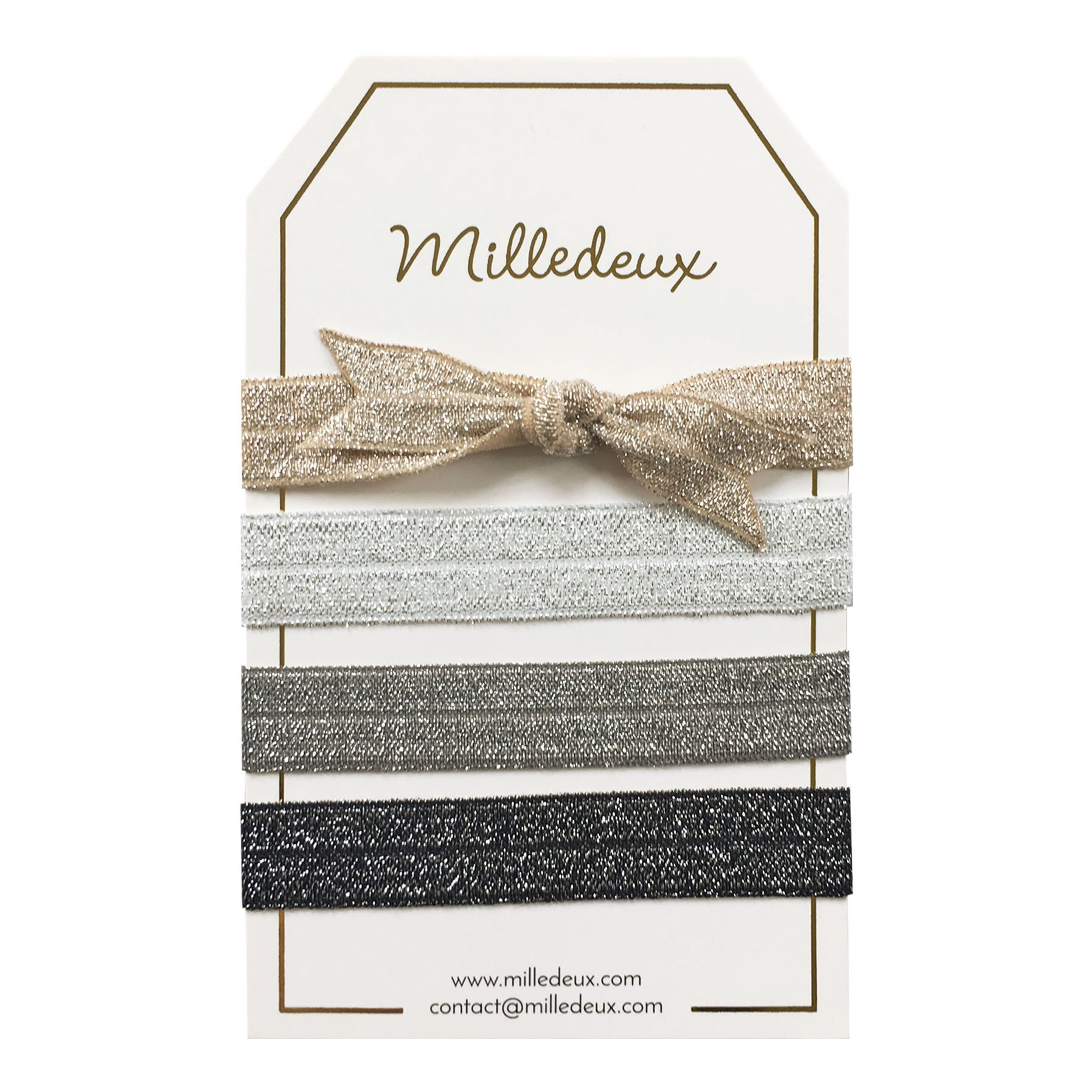 Image of   4 Milledeux Hairties - Color combi 14