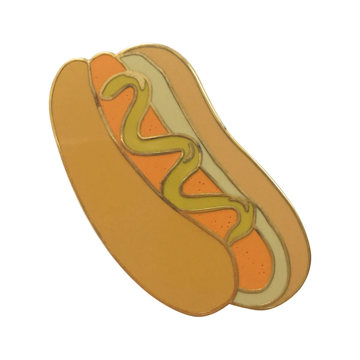Image of   Hotdog pin badge