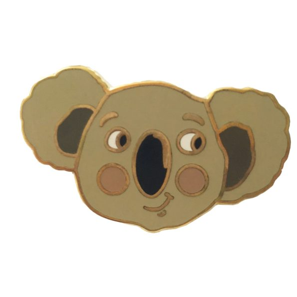 Koala pin badge