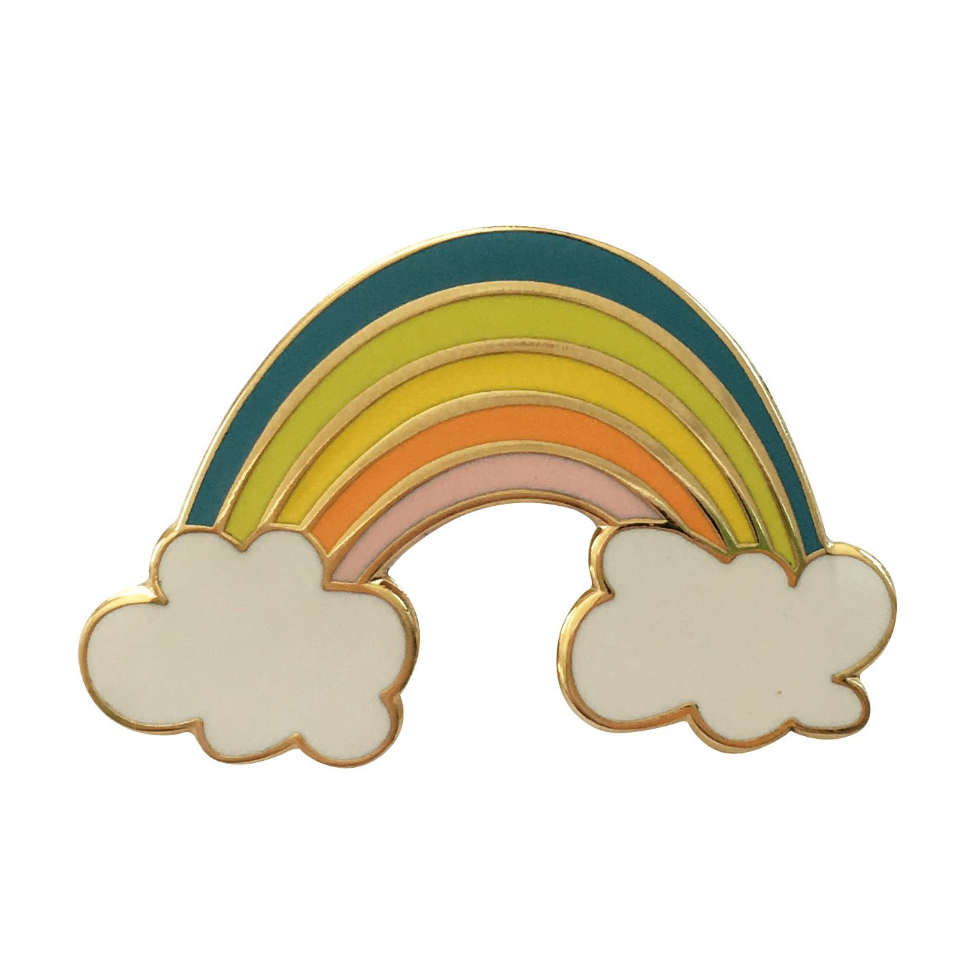 Image of   Rainbow pin badge