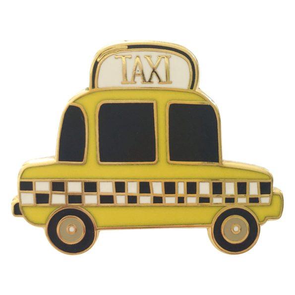 Taxi pin badge