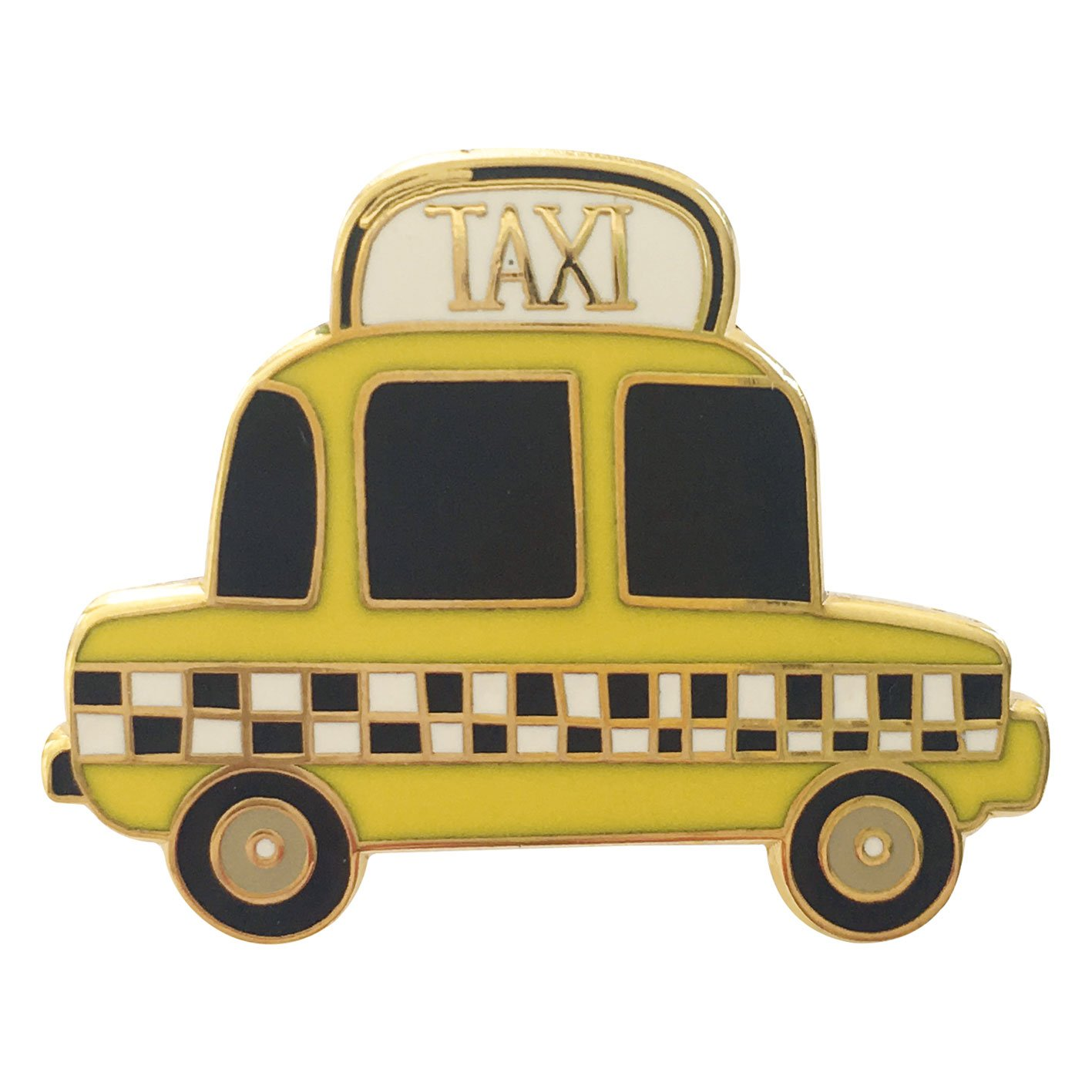 Image of   Taxi pin badge
