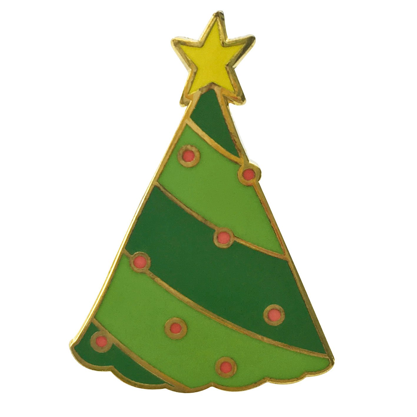 Image of   Christmas Three pin badge