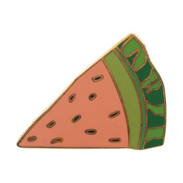 Watermelon pin badge