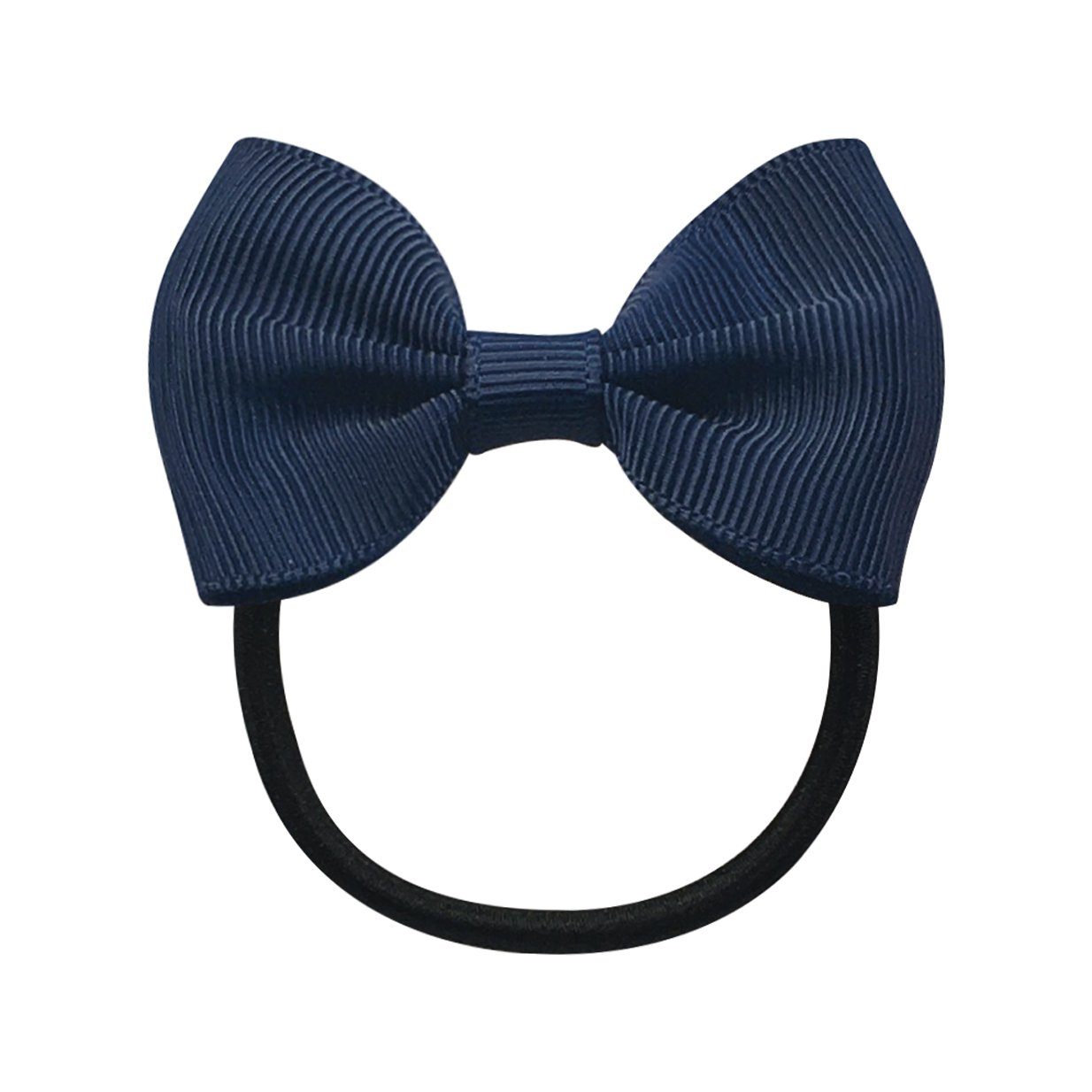 Image of   Collegiate Auburn - Small bowtie bow - elastic band - Navy