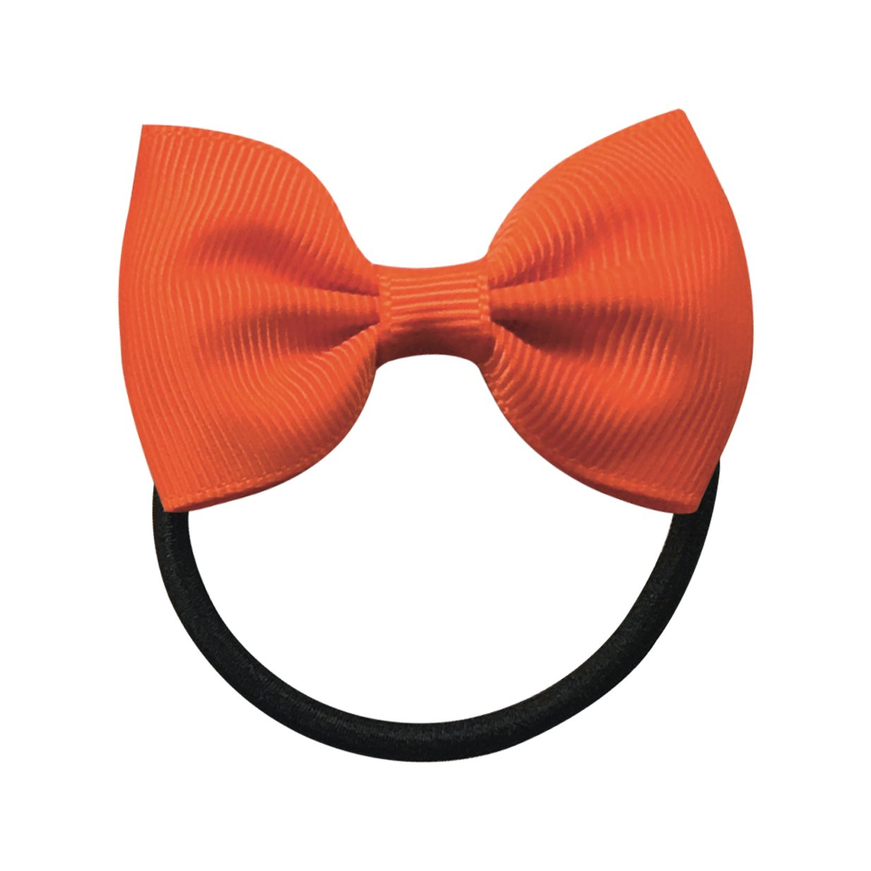 Image of   Collegiate Auburn - Small bowtie bow - elastic band - Orange