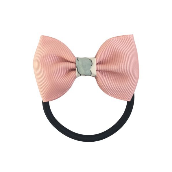 Small bowtie w. Liberty middle – elastic band – Liberty Betsy P / sweet nectar