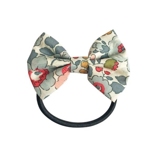 Small bowtie bow – elastic band – Liberty Betsy P