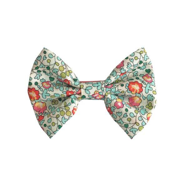 Small bowtie bow – alligator clip – Liberty Eloise B