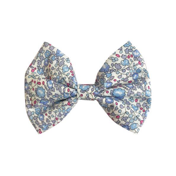 Large bowtie bow – alligator clip – Liberty Eloise D