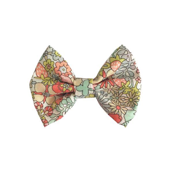 Small bowtie bow – alligator clip – Liberty Flower Tops B