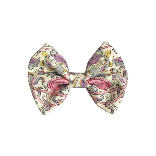 Small bowtie bow – alligator clip – Liberty Lodden F