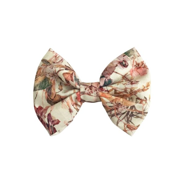 Small bowtie bow – alligator clip – Liberty Wildflowers F