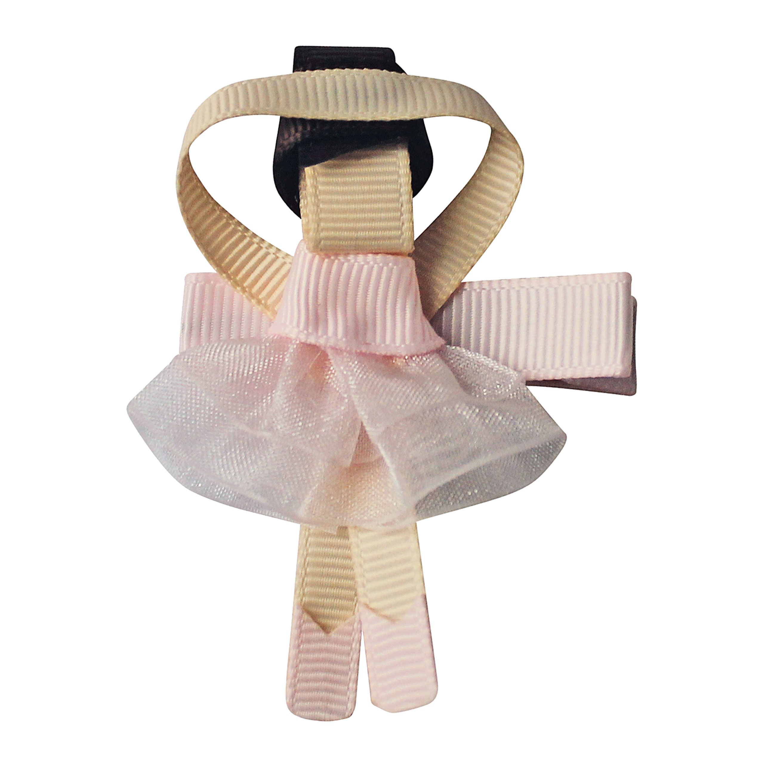 Image of Milledeux Ballerina - alligator clip - powder pink