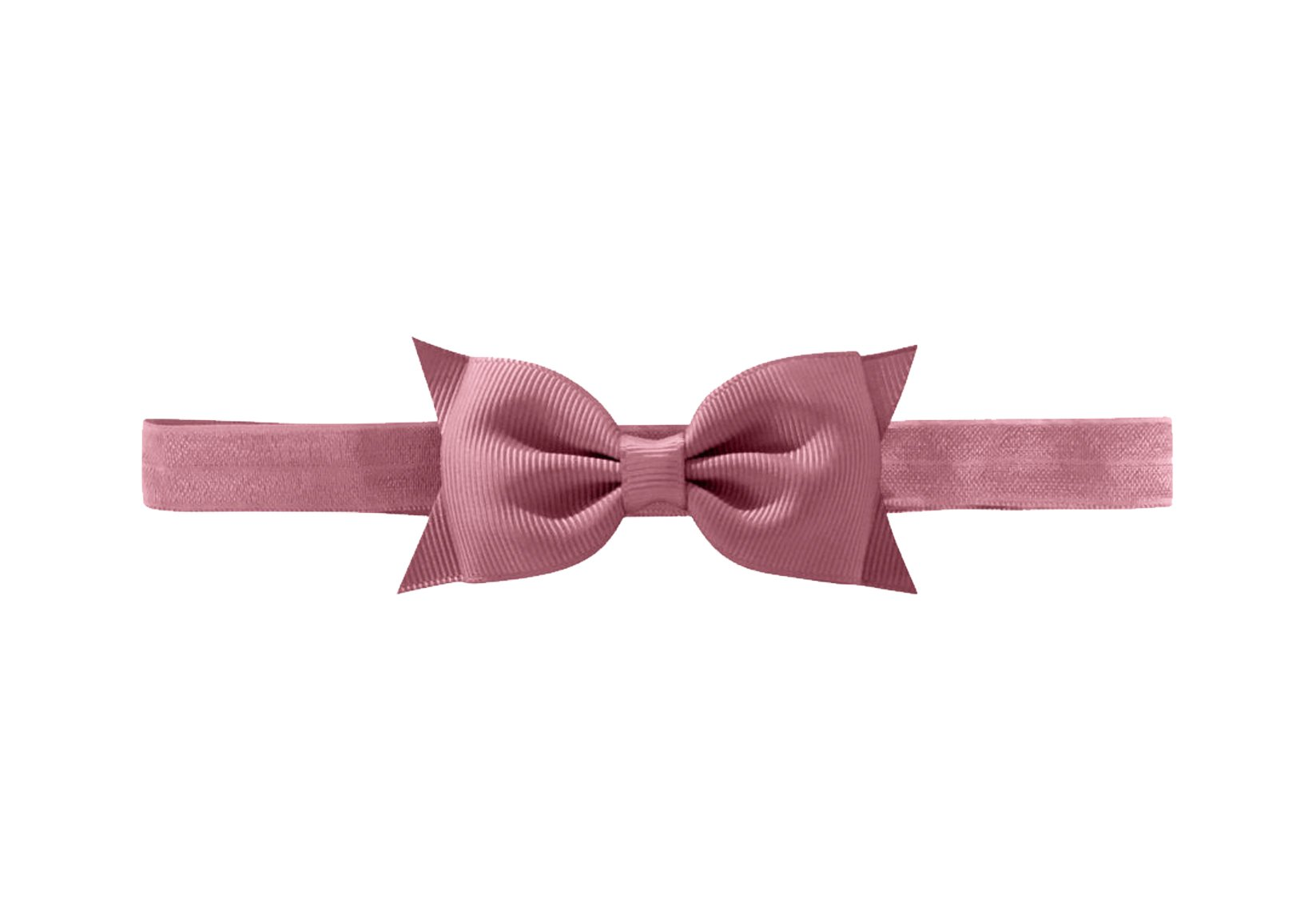 Double Bowtie Bow – Elastic Hairband