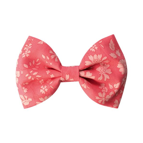 Large bowtie bow – alligator clip – Liberty Capel A