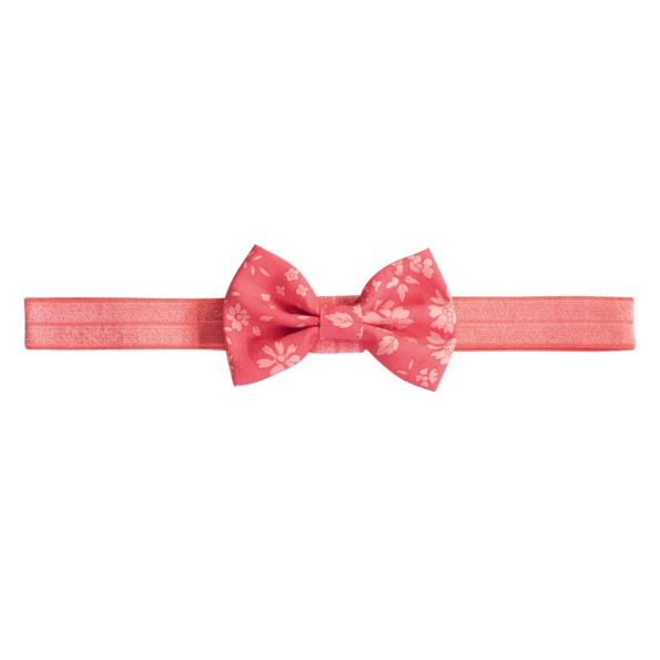 Small Bowtie Bow – elastic hairband – Liberty Capel A