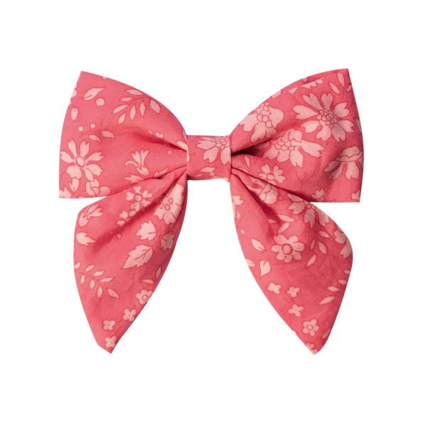 Medium bowtie with tails – alligator clip – Liberty Capel A