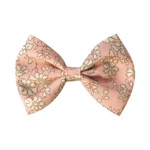 Large bowtie bow – alligator clip – Liberty Capel S