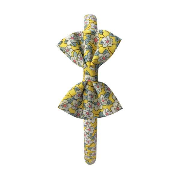 Small bowtie – hairband – Liberty Ffion B