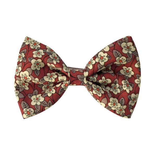 Large bowtie bow – alligator clip – Liberty Ffion C