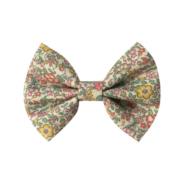Small bowtie bow – alligator clip – Liberty Katie & Millie B