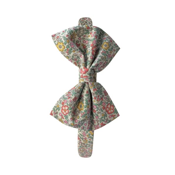Large bowtie – hairband – Liberty Katie & Millie B
