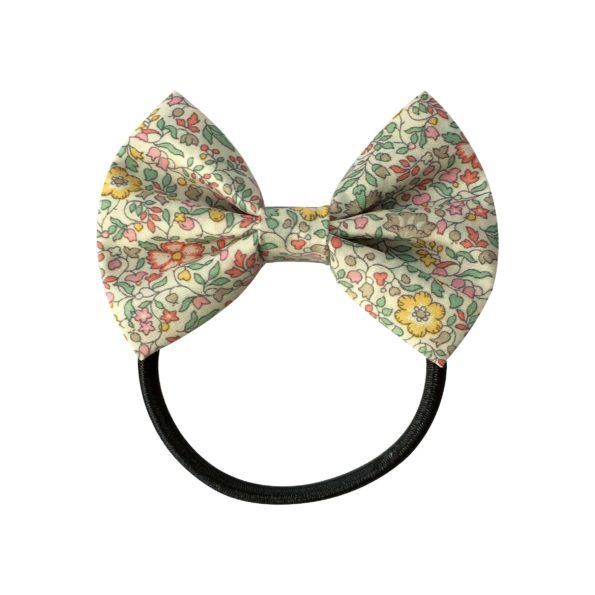 Small bowtie bow – elastic band – Liberty Katie & Millie B
