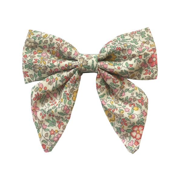 Medium bowtie with tails – alligator clip – Liberty Katie & Millie B