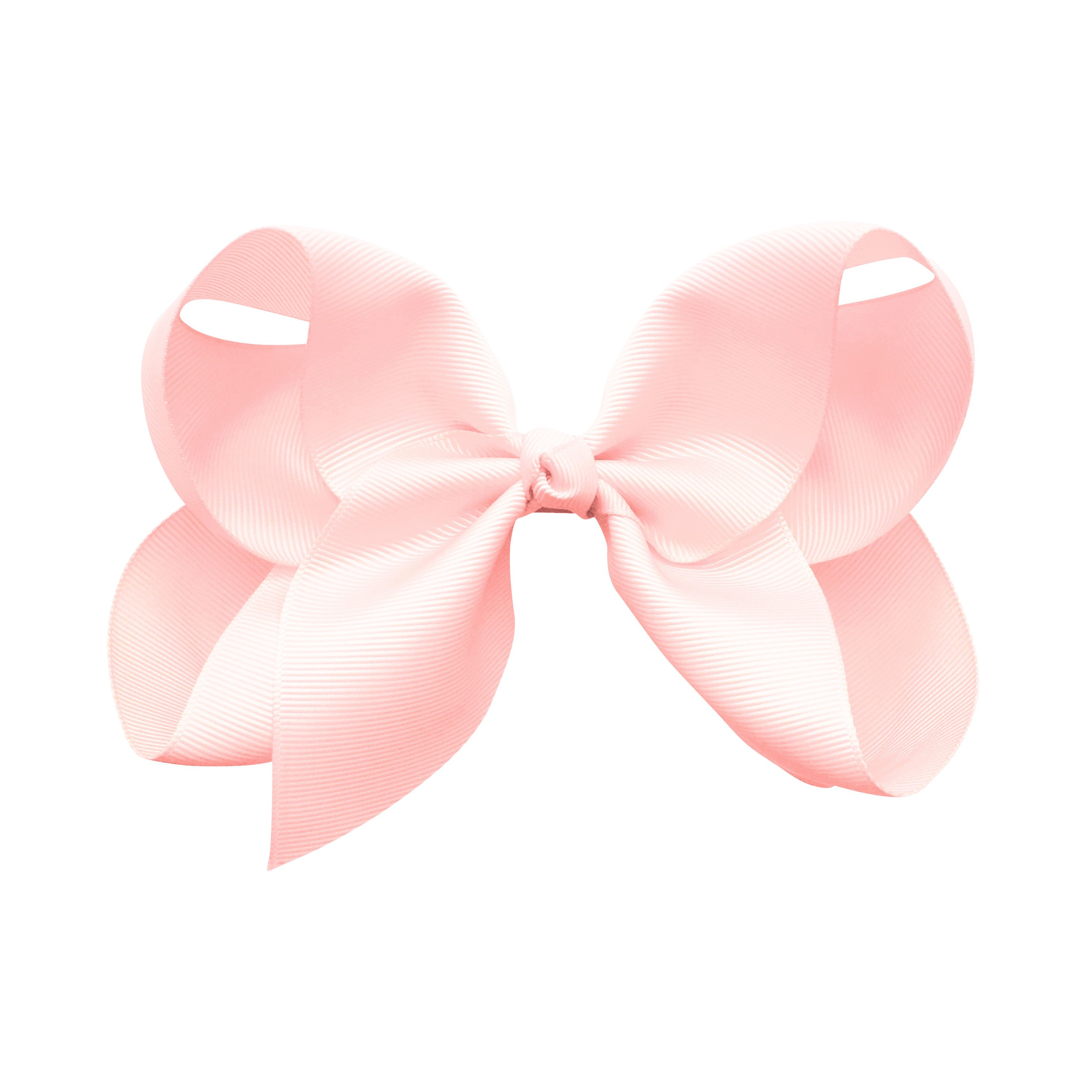 Image of Jumbo Boutique Bow - alligator clip - Powder Pink