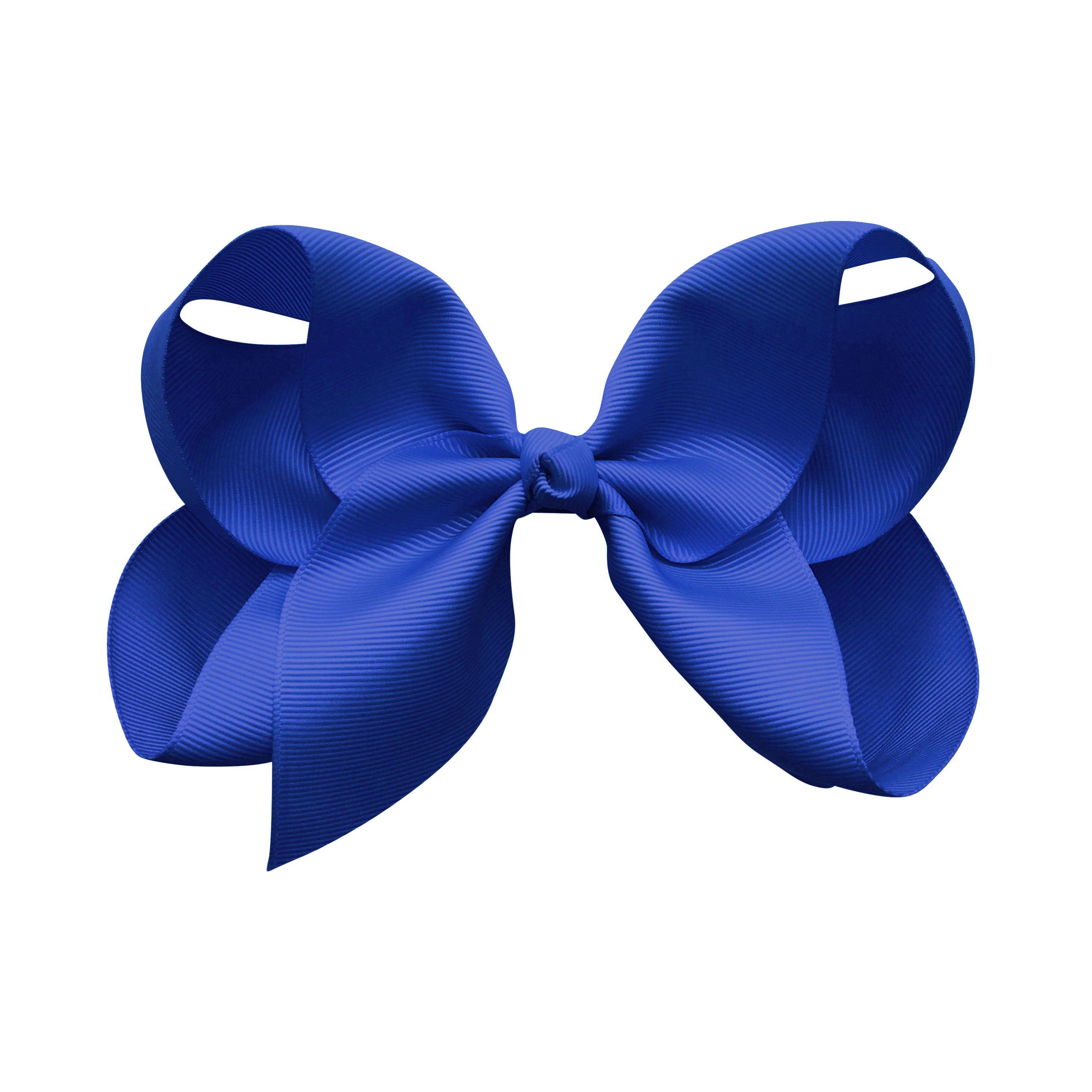 Image of Jumbo Boutique Bow - alligator clip - Cobalt