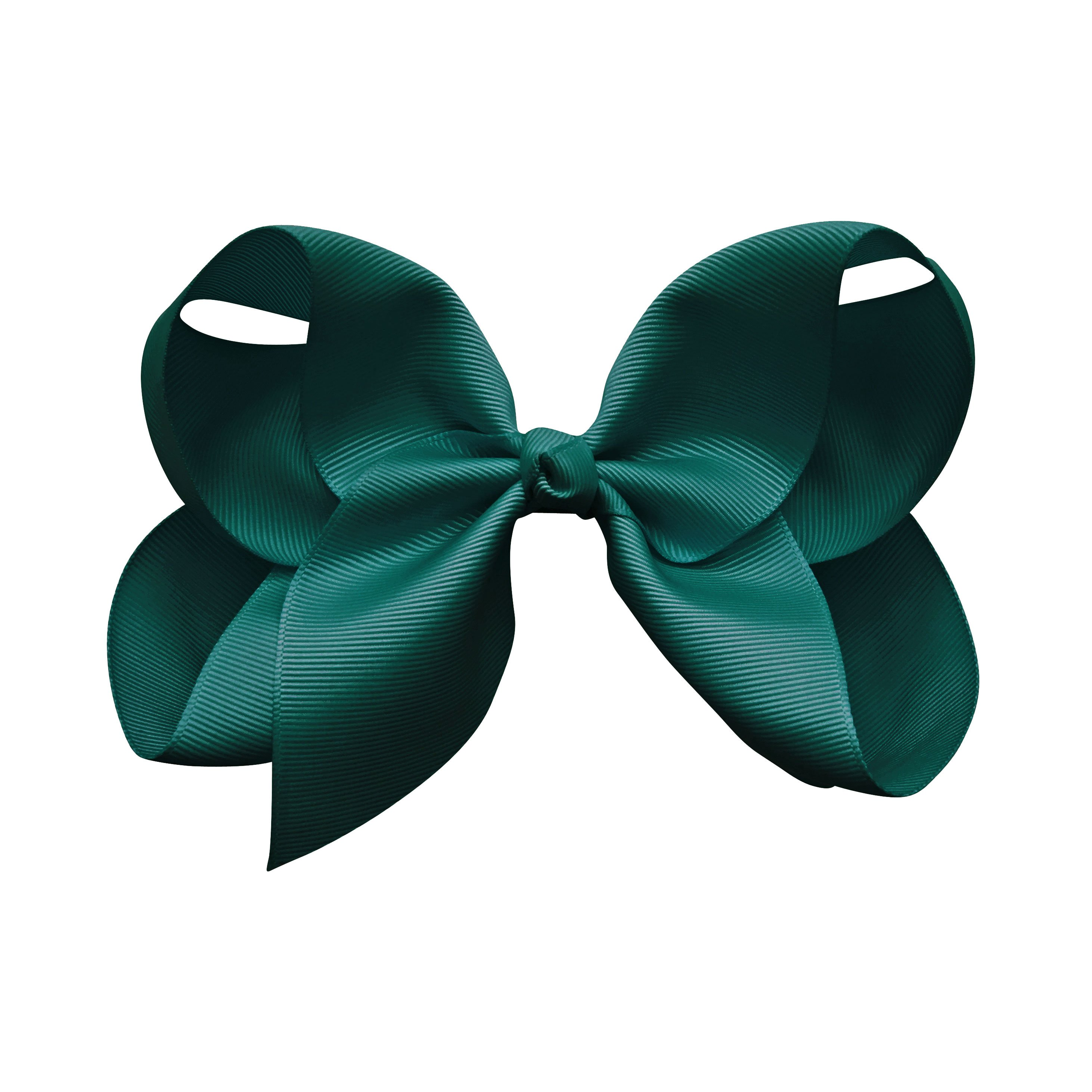 Image of Jumbo Boutique Bow - alligator clip - teal