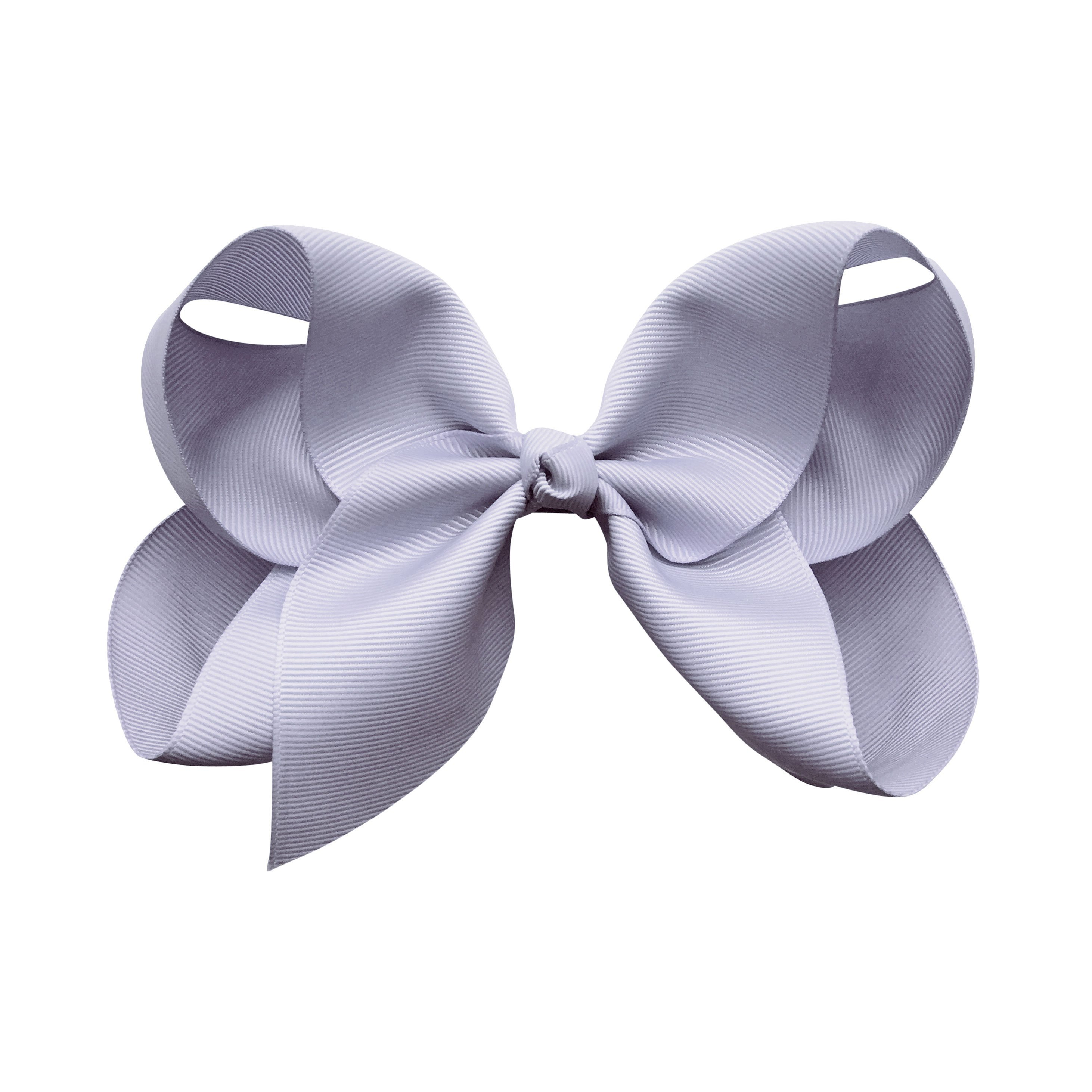 Image of Jumbo Boutique Bow - alligator clip - Thistle