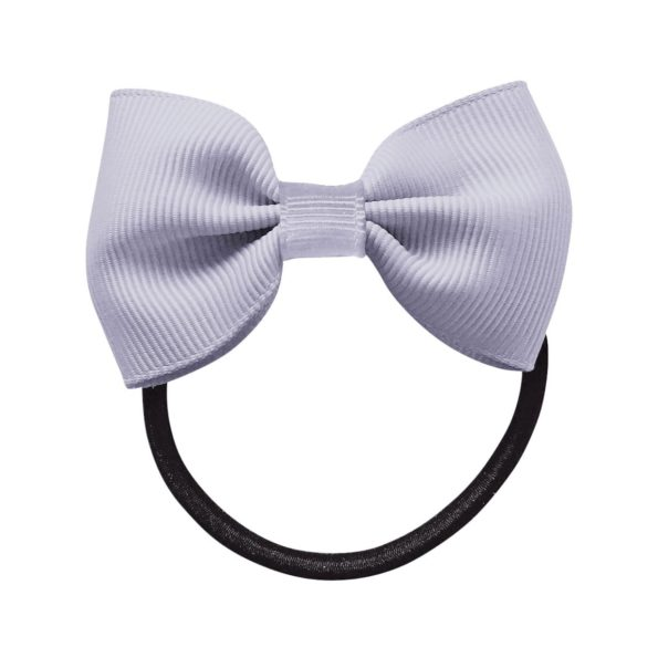 Small bowtie bow – elastic band – thistle