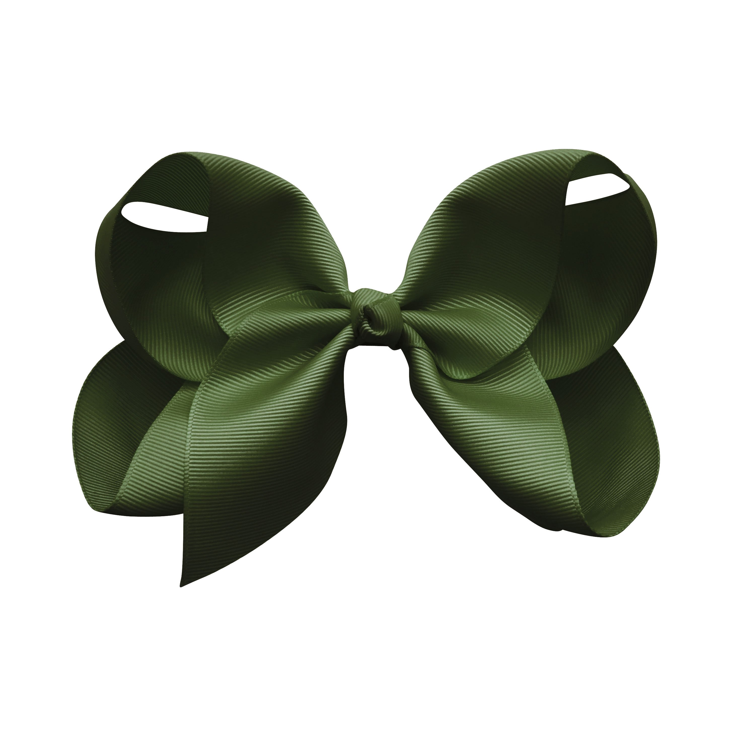 Image of Jumbo Boutique Bow - alligator clip - moss